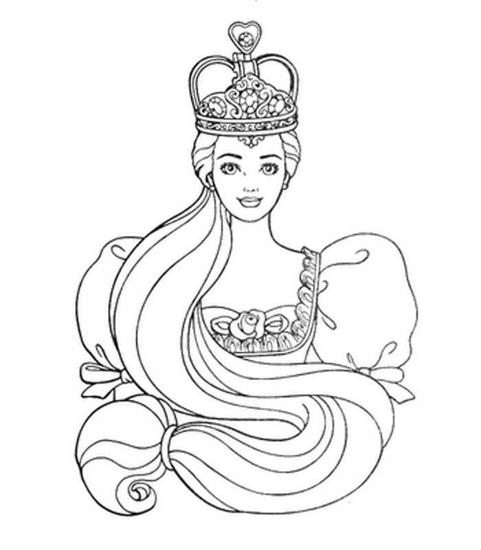 Barbie Coloring Pages 7
