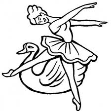 Barbie of Swan Lake Coloring Printable 3