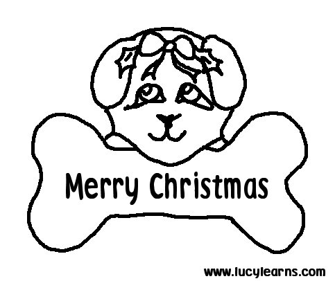 Free Printable Christmas Coloring Pages 8