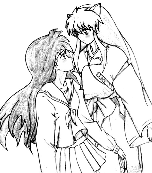 Inuyasha The Final Act Coloring Printable 5