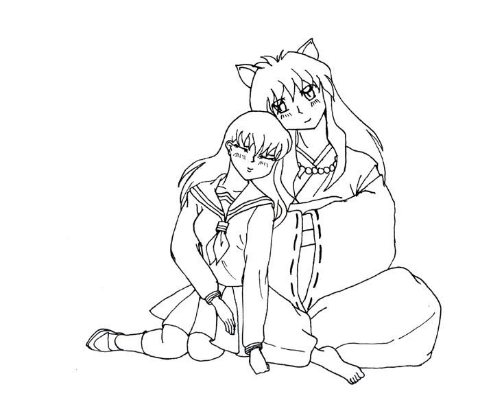 Inuyasha The Final Act Coloring Printable 6