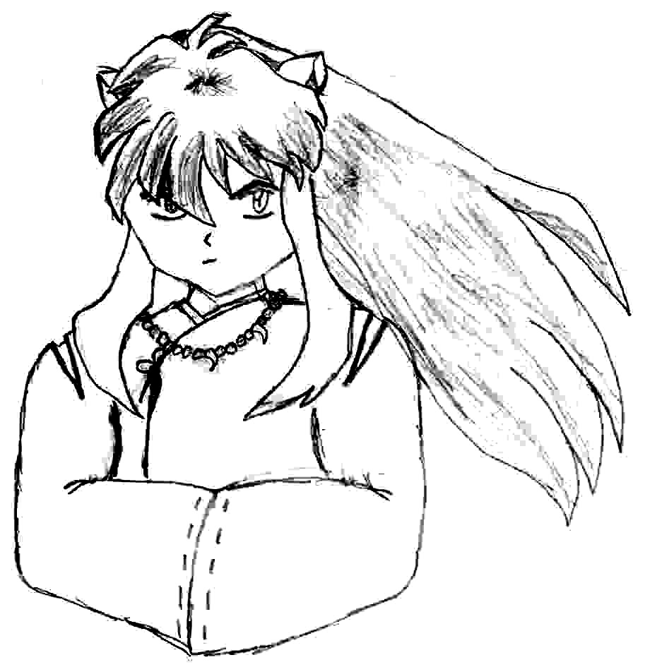 Inuyasha The Final Act Coloring Printable 7