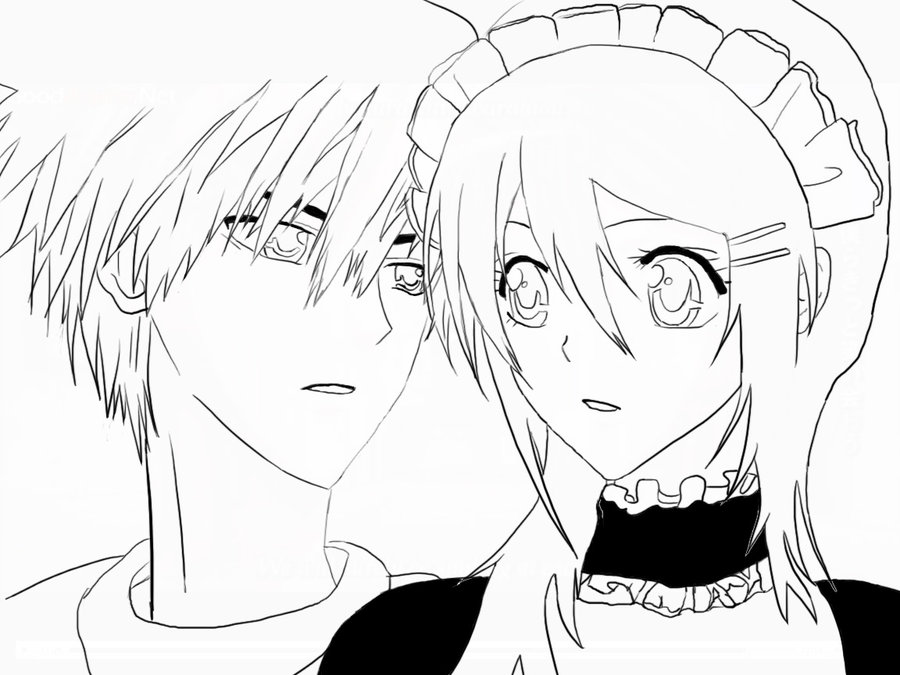 Maid Sama Coloring Printable 6
