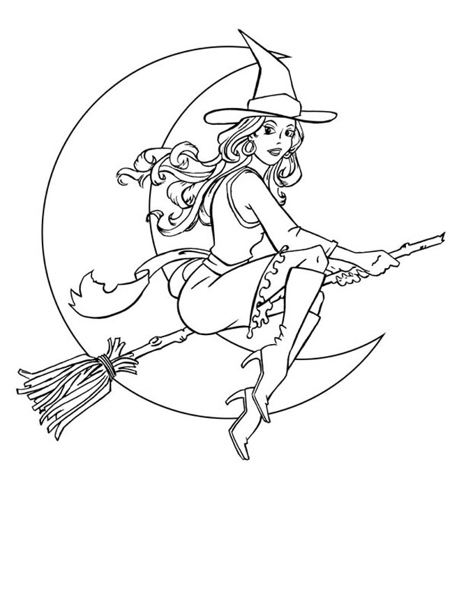 Printable Halloween Coloring Pages 4