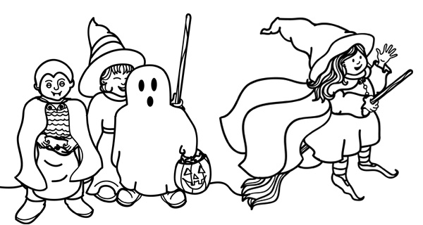 Printable Halloween Coloring Pages 5