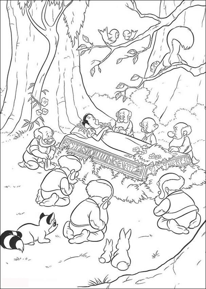 Snow White Coloring Pages 7